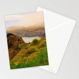 Coastal landscape in Azores Stationery Cards