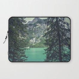 Dolomites Mountains Through Trees Laptop Sleeve