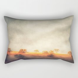 An Italian Hillside in Santa Ynez Rectangular Pillow