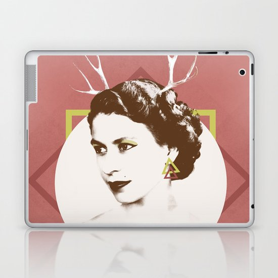 Elizabeth II : The Bold Laptop & iPad Skin