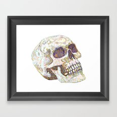 A Fellow of Infinite Jest Framed Art Print