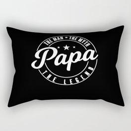 Papa - The Legend Rectangular Pillow