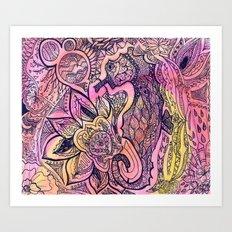 Seaflower Art Print