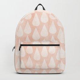 Big Drops Blush Coral Backpack