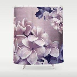 Imperfect Plumeria Shower Curtain
