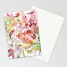 Wild flowers IV Stationery Cards