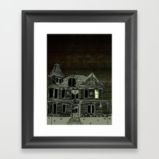Haunted House #2 Framed Art Print