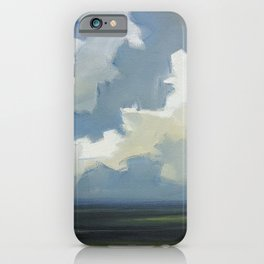 Fast Moving Clouds iPhone Case