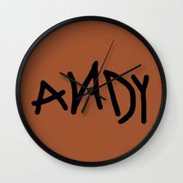 Andy Wall Clock