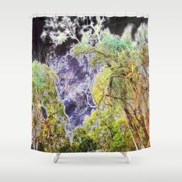 Bioluminescence Shower Curtain