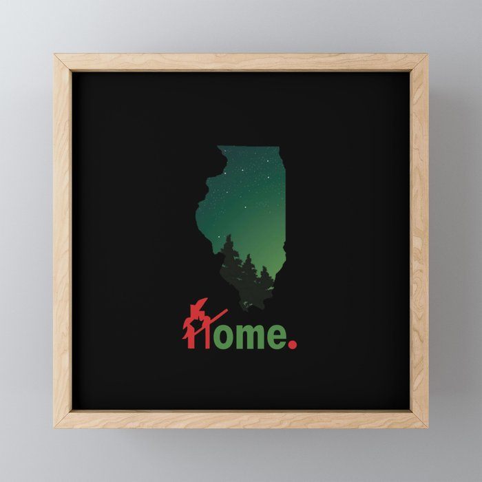 Rockford Proud Framed Mini Art Print