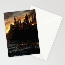 Harry Potter - Hogwart's Burning Stationery Cards