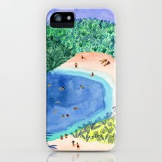 French Paradise iPhone SE Slim Case
