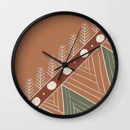 Brazilian Soil VI Wall Clock