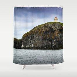 Icelandic Lighthouse Shower Curtain