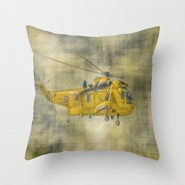 RAF Rescue Throw Pillow