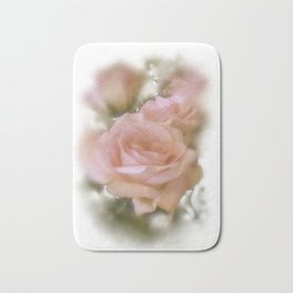 Love The Roses Bath Mat