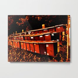 Countryside Neighbours Metal Print