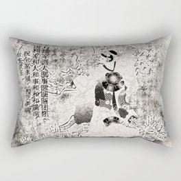 Tanzende Geisha Rectangular Pillow