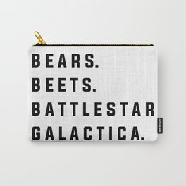 Bears Beets Battlestar Galactica - the Office Carry-All Pouch