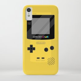Gameboy Color - Yellow iPhone Case