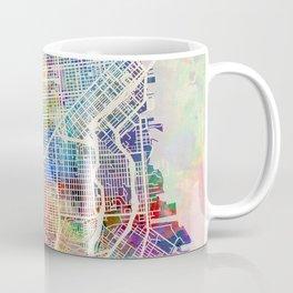 San Francisco City Street Map Coffee Mug