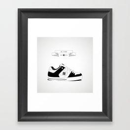 URBAN SHOES // 02 Framed Art Print