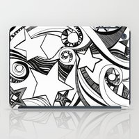 starry night iPad Cases featuring Starry starry night by OhMyDodd Designs