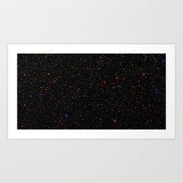 Stars in Omega Centauri Milky Way Galaxy Art Print