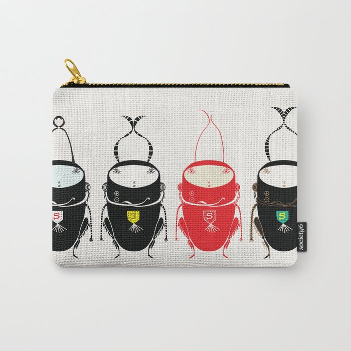 Red cricket Carry-All Pouch