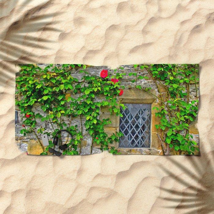 English Castle Beach Towel