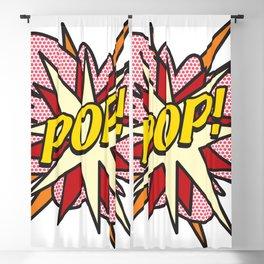 Comic Book Pop Art POP! Blackout Curtain