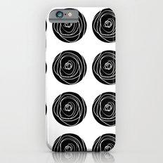Swirly Dot Pattern iPhone 6s Slim Case