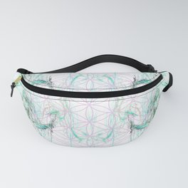 smoke on the flower of life Fanny Pack