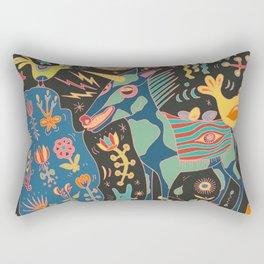 Unicorn Babble Rectangular Pillow
