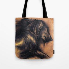 Dackel Tote Bag