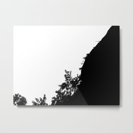 Deforestation Metal Print