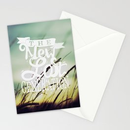 The New Lost Generation Stationery Cards