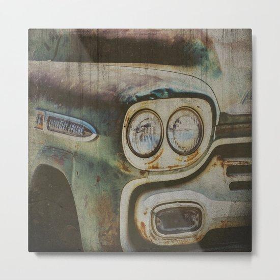 Chevy Apache Metal Print