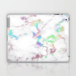 Holo Rainbow Unicorn Marble Laptop & iPad Skin