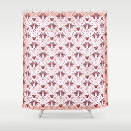 Quilted Milongueros - a Tango Gitano Pattern  Shower Curtain