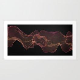 Smokey art Design #3 | Gothic Industral Art Print