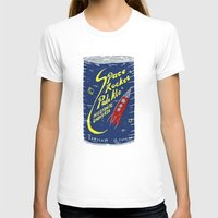 ale giorgini T-shirts featuring Space Rocket Pale Ale by Moto