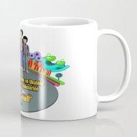 yellow submarine Mugs featuring Yellow Submarine by The Beatles Complete On Ukulele