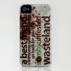 Zombie Infested Wasteland iPhone (4, 4s) Slim Case