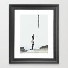 Hors d'atteinte Framed Art Print