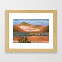 La Choya Framed Art Print