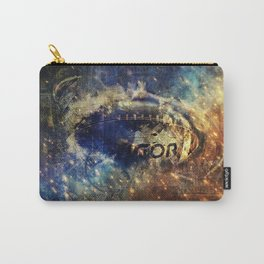 Abstract american football Carry-All Pouch