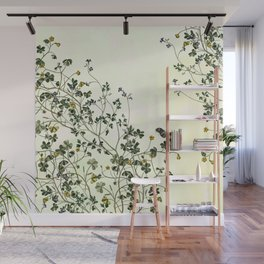 The cultivation of wild Wall Mural