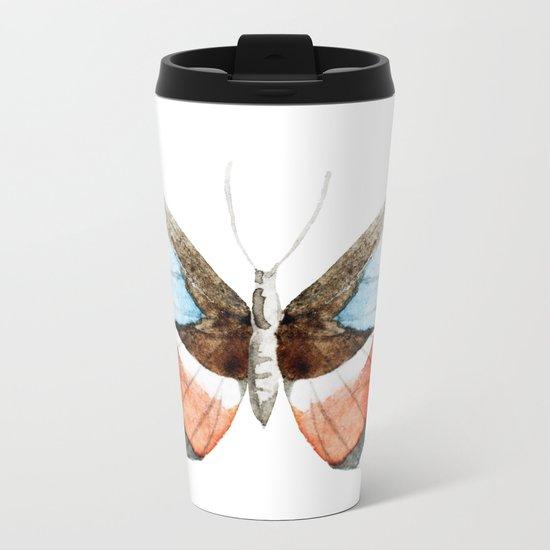 Butterfly 09 Metal Travel Mug